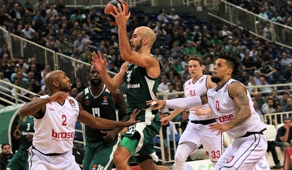RS Round 2 report: Calathes leads Panathinaikos in win over Brose