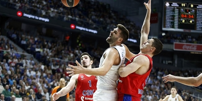 RS Round 2: Real Madrid vs. CSKA Moscow