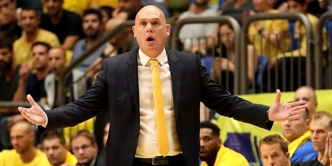 Neven Spahija, Maccabi: 'Players create real chemistry'