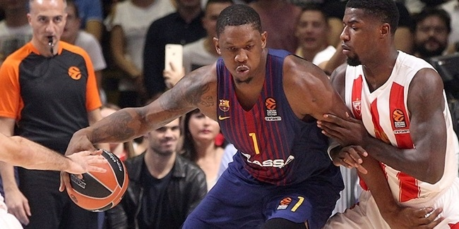Barcelona center Seraphin to miss four more weeks