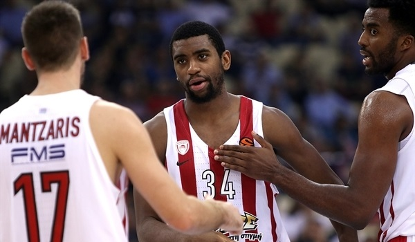 RS Round 2 report: Thompson leads Olympiacos to 2-0 after fast start
