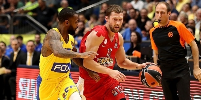 Road wins loom large for Olympiacos vs. Maccabi