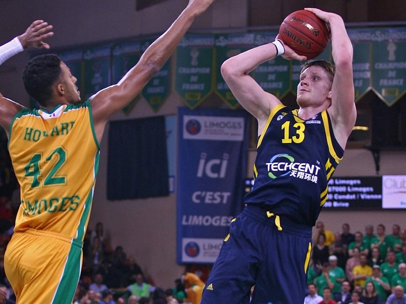 Marius Grigonis - ALBA Berlin (photo Limoges - Olivier SARRE) - EC17