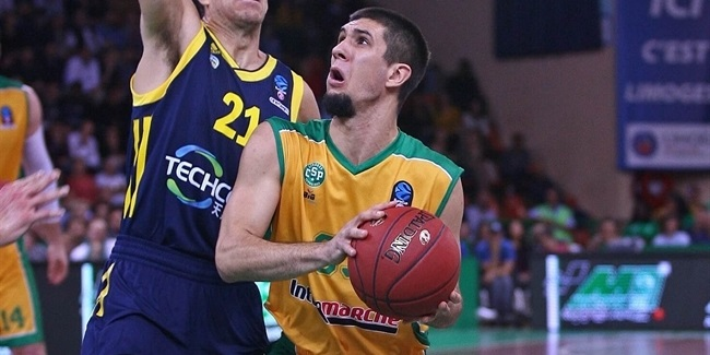 Axel Bouteille, Limoges CSP