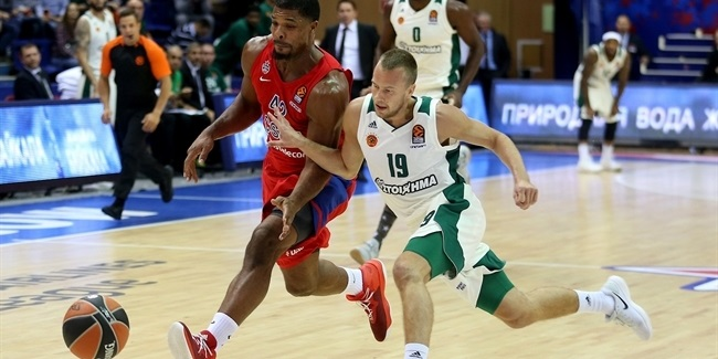 RS Round 3: CSKA Moscow vs. Panathinaikos Superfoods Athens