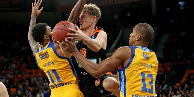 7DAYS EuroCup, Regular season, Round 3: ratiopharm Ulm vs. Herbalife Gran Canaria