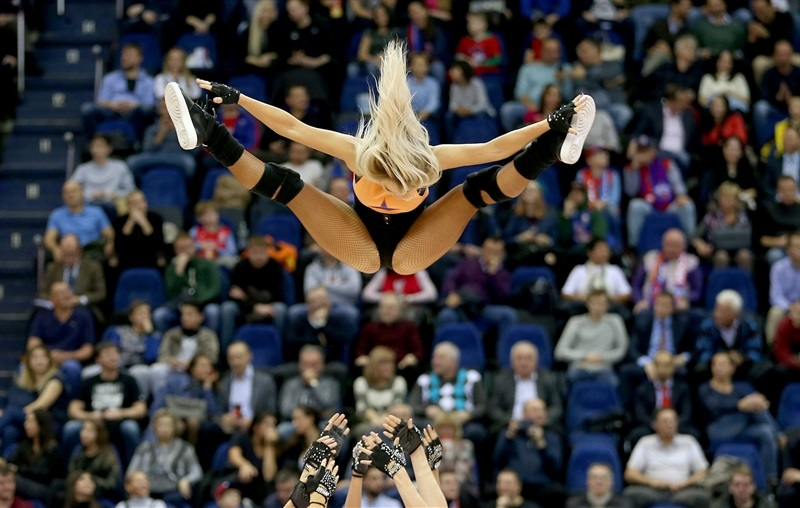 Cheerleaders - CSKA Moscow - EB17