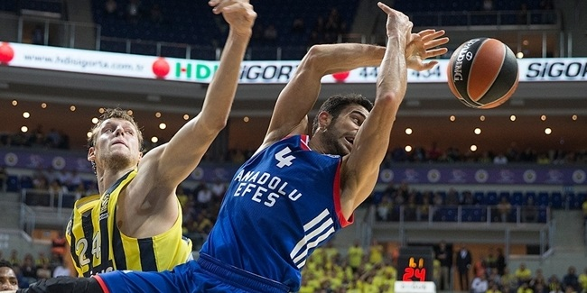 Efes to miss Balbay for 2 months