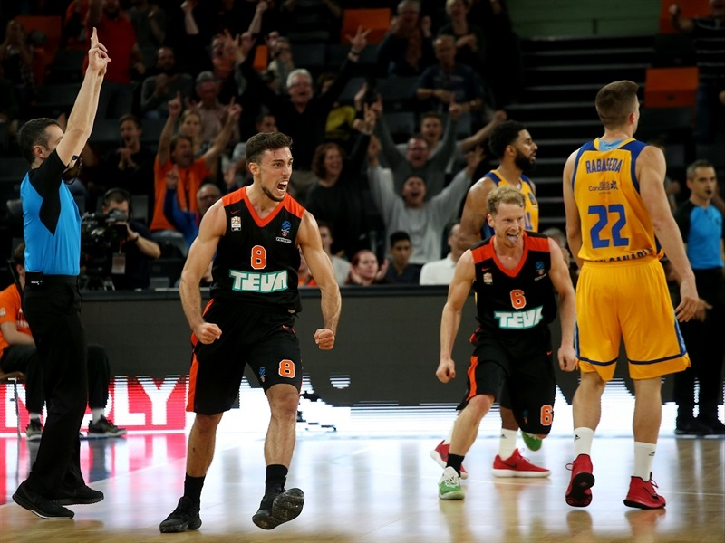 Ismet Akpinar celebrates - ratiopharm Ulm (photo Ulm) - EC17