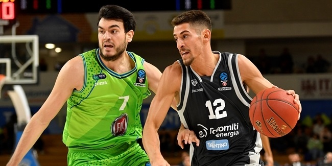 7DAYS EuroCup, Regular season, Round 3: Dolomiti Energia Trento vs. Tofas Bursa