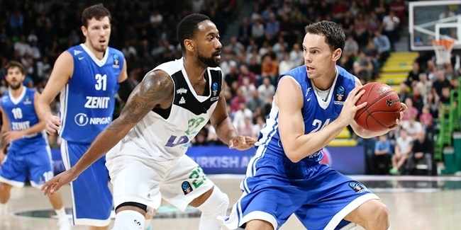 Kyle Kuric, Zenit: 'Everything is coming together'
