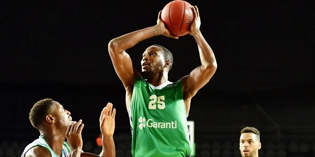 JaJuan Johnson, Darussafaka: 'Our guys are hungry'