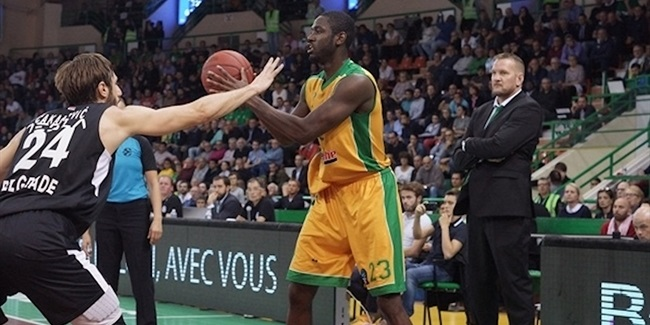 7DAYS EuroCup, Regular season, Round 4: Limoges CSP vs. Partizan NIS Belgrade