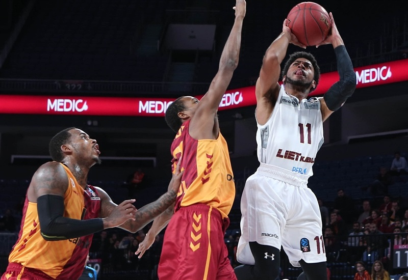 Gary Talton - Lietkabelis Panevezys (photo Galatasaray) - EC17