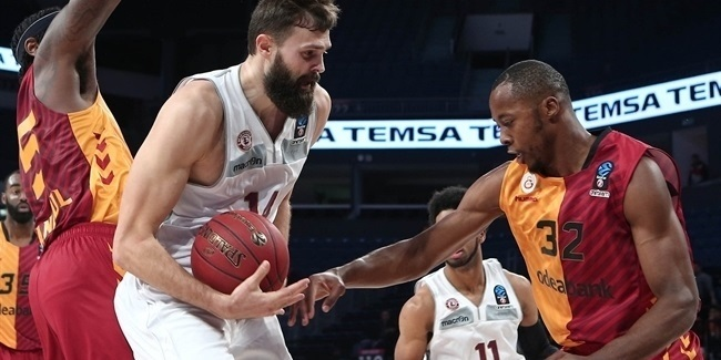 7DAYS EuroCup, Regular season, Round 4: Galatasaray Odeabank Istanbul vs. Lietkabelis Panevezys