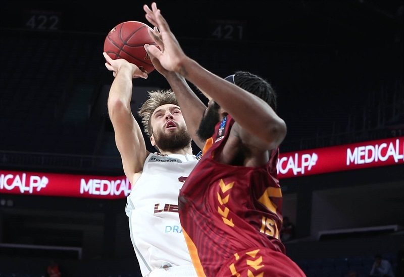 Zanis Peiners - Lietkabelis Panevezys (photo Galatasaray) - EC17