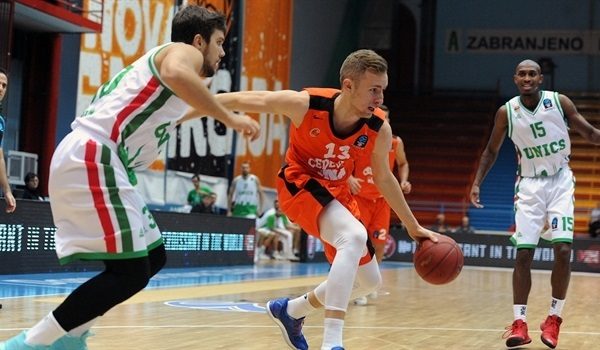 Regular Season, Round 4: Musa's career high 20 points carries Cedevita over UNICS
