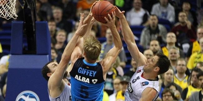 ALBA's Giffey out a month with thumb injury