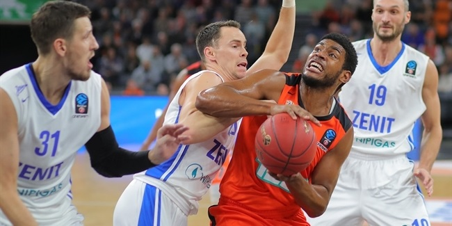 7DAYS EuroCup, Regular season, Round 4: ratiopharm Ulm vs. Zenit St Petersburg