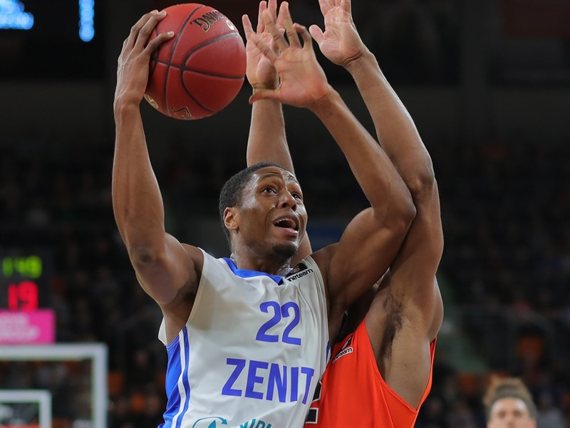 Demonte Harper - Zenit St Petersburg  (photo Ulm - Florian Achberger) - EC17