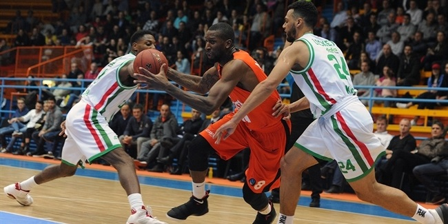 7DAYS EuroCup, Regular season, Round 4: Cedevita Zagreb vs. UNICS Kazan