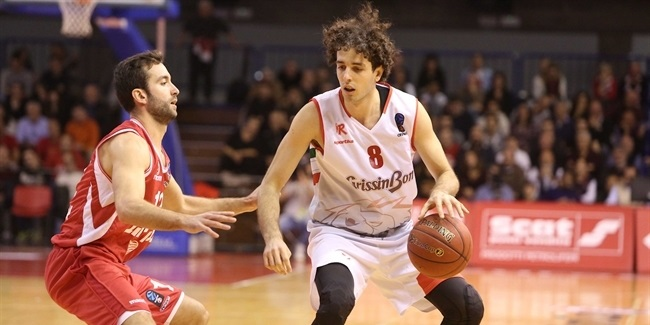 7DAYS EuroCup, Regular season, Round 4: Grissin Bon Reggio Emilia vs. Hapoel Bank Yahav Jerusalem