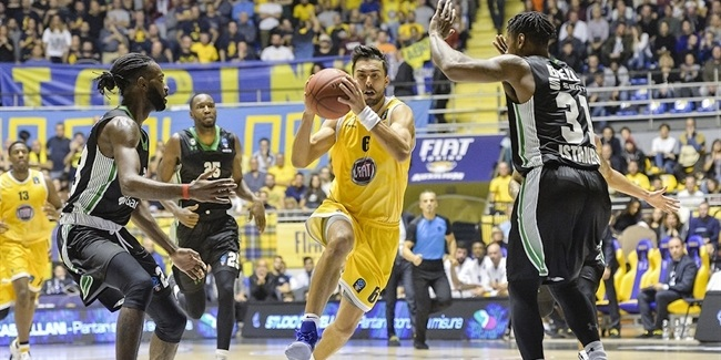 7DAYS EuroCup, Regular season, Round 4: Fiat Turin vs. Darussafaka Istanbul