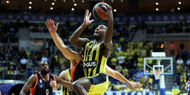 RS Round 5: Fenerbahce Dogus Istanbul vs. Valencia Basket