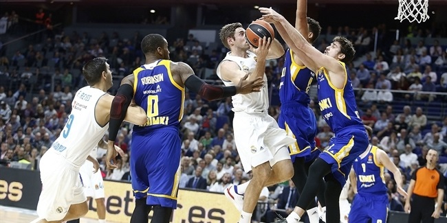 RS Round 5: Real Madrid vs. Khimki Moscow Region