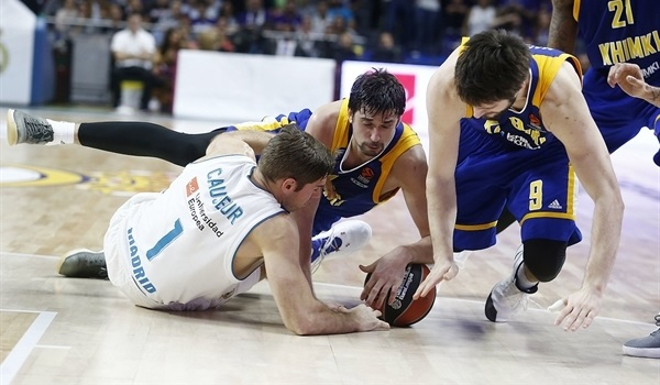 RS Round 5 report: Shved, Khimki send Madrid to first defeat