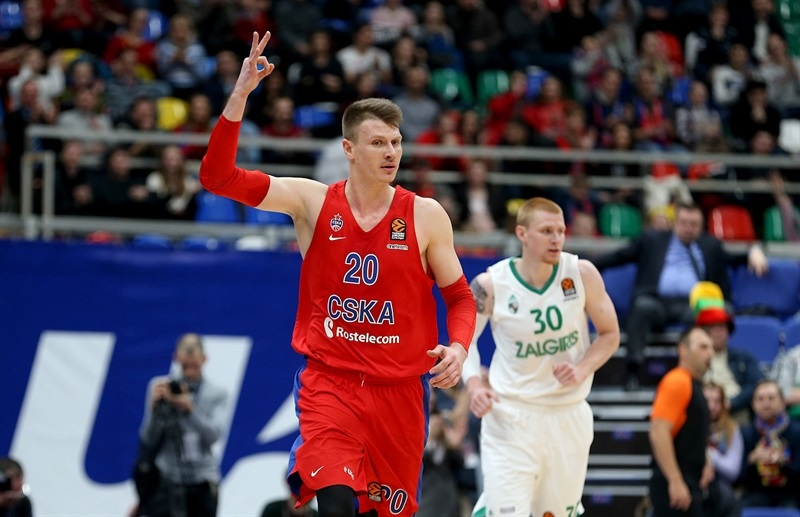Andrey Vorontsevich - CSKA Moscow - EB17