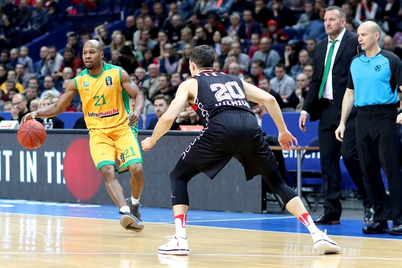 Danny Gibson - Limoges CSP (photo Rytas) - EC17