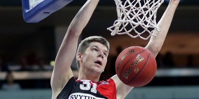 Rokas Giedraitis, Lietuvos Rytas: 'We need to believe that we can win'