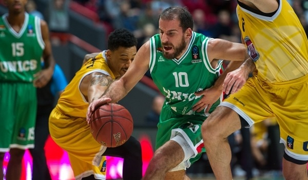 Regular Season, Round 5: UNICS Kazan overpowers Fiat Turin