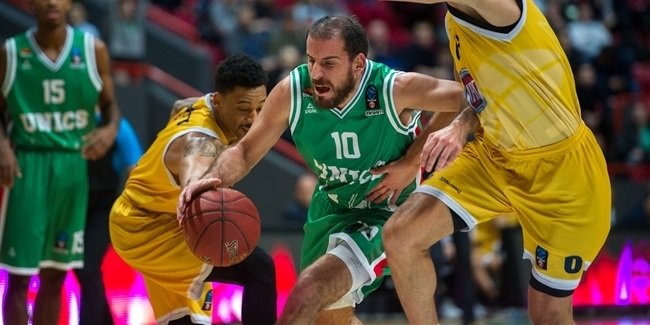 7DAYS EuroCup, Regular season, Round 5: UNICS Kazan vs. Fiat Turin