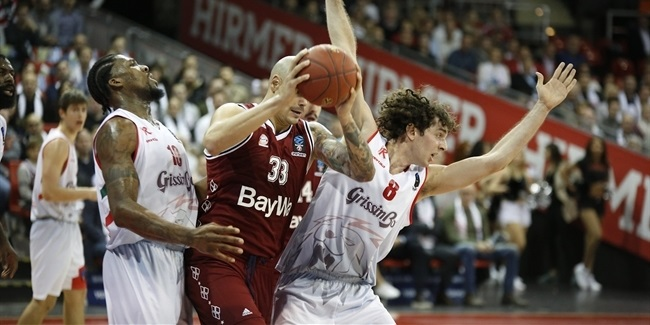 7DAYS EuroCup, Regular season, Round 5: FC Bayern Munich vs. Grissin Bon Reggio Emilia
