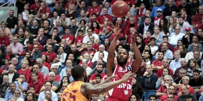 7DAYS EuroCup, Regular season, Round 5: Hapoel Jerusalem vs. Galatasaray Odeabank Istanbul