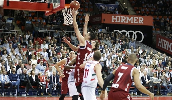 Regular Season, Round 5: Undefeated Bayern too much for Reggio Emilia