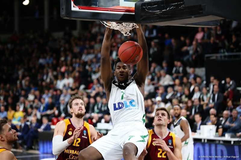 Alpha Kaba - ASVEL Villeurbanne  (photo Asvel - infinity Nine Media - Arthur Viguier) - EC17