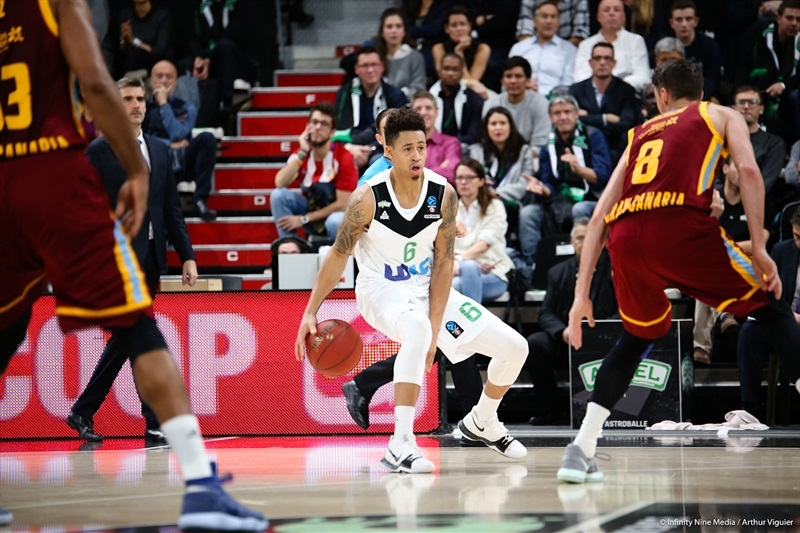 AJ Slaughter - ASVEL Villeurbanne  (photo Asvel - infinity Nine Media - Arthur Viguier) - EC17