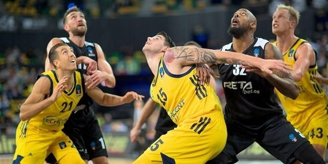 7DAYS EuroCup, Regular season, Round 5: RETAbet Bilbao Basket vs. ALBA Berlin