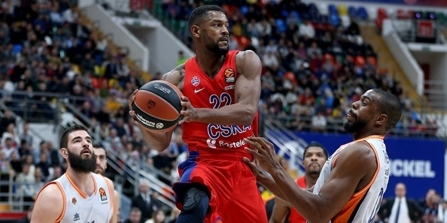Cory Higgins, CSKA: 'We got tougher mentally'