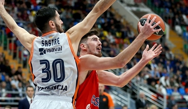 RS Round 6 report: CSKA overcomes bad start to blow out Valencia