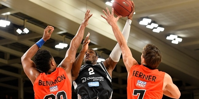 7DAYS EuroCup, Regular season, Round 5: Dolomiti Energia Trento vs. ratiopharm Ulm