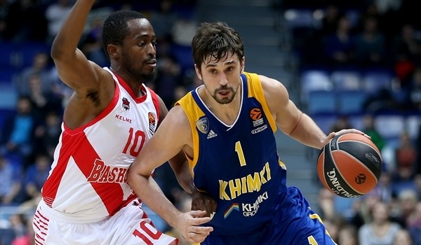 RS Round 6 report: Shved, Gill lead Khimki to fifth win