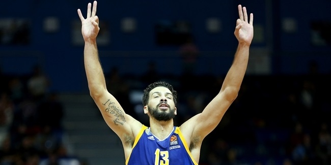 Khimki's Gill to miss 3-4 weeks