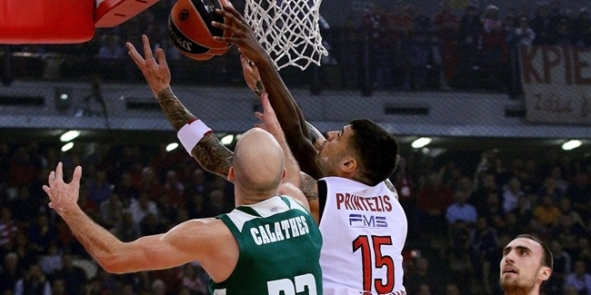 RS Round 6: Olympiacos Piraeus vs. Panathinaikos Superfoods Athens