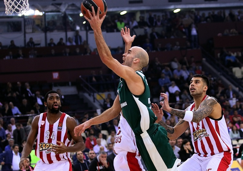 Nick Calathes - Panathinaikos Superfoods Athens - EB17