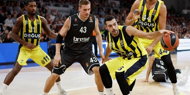 RS Round 6: Brose Bamberg vs. Fenerbahce Dogus Istanbul
