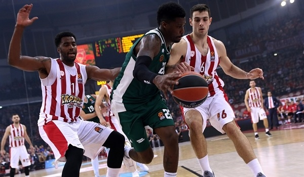 RS Round 6 report: Gist, Lekavicius lead Panathinaikos past Olympiacos